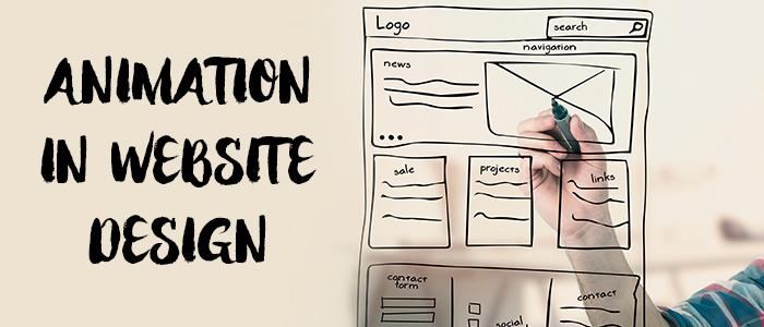 headline - website animation